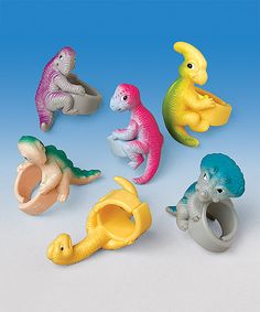 Look at this Dinosaur Ring - Set of 24 on #zulily today!