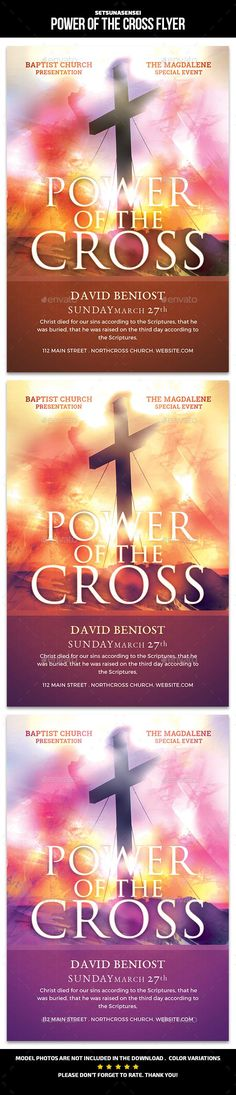 Power Of The Cross Flyer