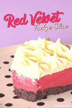 #Dessert #pie #recipes #dessert #your Fudge and red velvet come together for the nobake dessert of your dreamsbrp classfirstletterPlease scroll down we have more content on our page about nobakepyour and Quality piece on Our Pinterest PanelbrIf you dont like everything together part of the impression we offer you when you read this icon is exactly the features you are looking for you can see In the image NoBake Red Velvet Fudge Slice  Fudge and red velvet come together for the nobake dessert… Peanut Butter Dessert Recipes, Dessert Recipes For Kids, Dessert Cake Recipes, Mousse Dessert, Bon Dessert, Easy Homemade Desserts, Homemade Cake Recipes, Pie Recipes, Sweet Recipes
