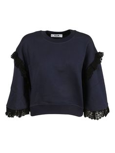 MSGM MSGM MSGM LACE TRIM TOP. #msgm #cloth #