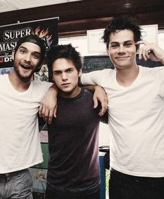 Teen Wolf. Dylan Sprayberry as Liam is my new favorite character! The 3 loves of my life<3