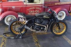 Indian Scout Sixty Flat Tracker by RSD #motorcycles #flattracker #motos | caferacerpasion.com