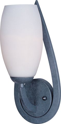 C157-22179SWTE By Maxim Lighting-Elan Collection Texture Ebony Finish 1-Light Wall Sconce