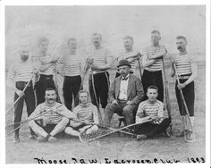 1893 Moose Jaw, (NWT), Saskatchewan Lacrosse Team in Uniform