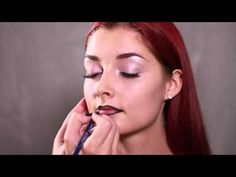 Back to the This inspired make-up was created by beauty vlogger Mama Make Up. Makeup Videos, Helsinki, Stylists, Make Up, Video Tutorials, Finland, Hair, Inspiration, Beauty