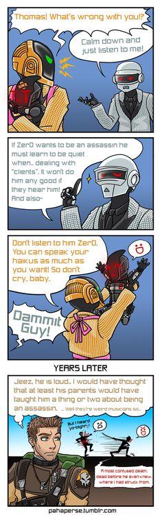 Daft Punk Parents IX by sheiku92