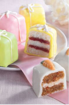 These petit fours look sexual.
