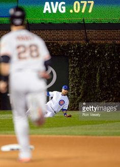Buster Posey, SF/Ben Zobrist, CHC//Oct 7, 2016 Game 1 NLDS