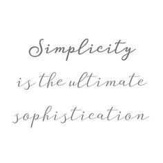More often we have the tendency to complicate rather than simplify. We assume that sophistication equals results, brilliance, performance… Equality, Victoria, Instagram, Design, Social Equality