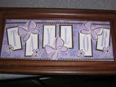 Name Frames by shawneerank - Cards and Paper Crafts at Splitcoaststampers