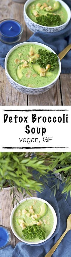 #Detox Broccoli Soup /// Hey Gorgeous! Come Detox with us. Lose Weight & Feel Great. We carry #1 Best Tasting Detox Tea. 100% Natural & Laxative-Free! SHOP HERE ➡ www.asapskinny.com