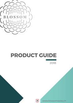 Blossom product catalog with CBD tea and infusion, CBD flowers in packages and cans, CBD beer, chewing gum, capsules and many more...