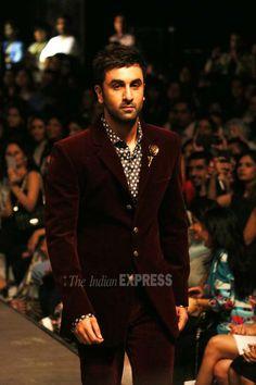 cfa895dd0fe9 Ranbir Kapoor at Manish Malhotra s fashion show at Lakme Fashion Week  Winter Festive 2015.