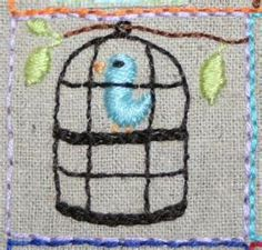 39 Squares - Stitchingalong Sarah's Square 10/36 by Roxy ... | Stitch ...