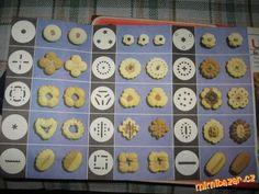 CUKROVÍ - Zdobička a lis na těsto Sweet Recipes, Sweet Tooth, Cookies, Food, Bakken, Crack Crackers, Biscuits, Cookie Recipes, Meals
