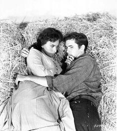 Sophia Loren and Anthony Perkins in 'Desire Under the Elms', 1958.