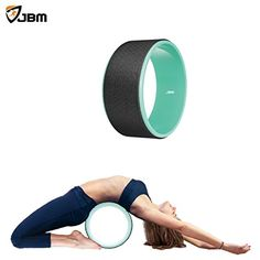 JBM Yoga Wheel for Stretching and Improving Backbends Bridge Pose Dharma Yoga Wheel Pose  12 x 5   Relax Yoga Poses Relieves Stress Stretch and Open the Chest Shoulders Hips and Spine *** Be sure to check out this awesome product.