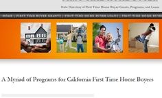 If you're looking to buy your first home in California, we have all the contact information for every program available to CA residents. There's programs at the federal, state and local level available to help with the down payment and closing costs and other expenses of buying your first residence. Simply click the image above to visit the website.