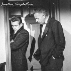 James Dean and Director Nicholas Ray on the set of Rebel Without a Cause. #jamesdean #nicholasray #rebelwithoutacause #director #awesome #americanicon #americanlegend #hollywood #hollywoodactor #hollywoodlegend #classicmovies #oldhollywood #foreveryoung #vintage #cute #cool #borncool #legendsneverdie #legend #icon #love #1950s #50s #goldenhollywood #goldenera