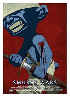 smurf wars! diburros