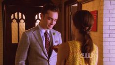 """You can't look at a pie without thinking about one of two things: the pie binge or… Chuck Bass. 