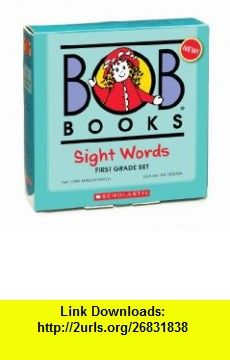 Bob  Sight Words - First Grade (9780545019248) Lynn Maslen Kertell, Sue Hendra , ISBN-10: 0545019249  , ISBN-13: 978-0545019248 ,  , tutorials , pdf , ebook , torrent , downloads , rapidshare , filesonic , hotfile , megaupload , fileserve