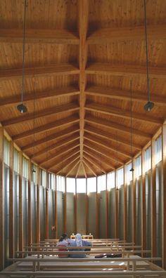 peter zumthor chapel st benedict - Google Search