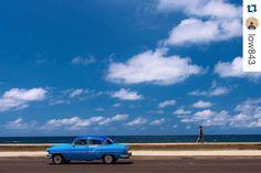 Beautiful Day on Malecon Havana. Thank you Michael for Post amazing pictures of Cuba. Saludos un Abrazo. Repost @low843  La Habana Cuba - headed in different directions on the Malecón; I hope everyone is having a great day or evening wherever you are  #Cubanossomos #Cuba #cubita #cubans #cuba_galery #cubalibre #vivacuba #nostalgia #sentimientos #suenos #amor #paz #amigos #corazon #respeto #lealtad #dignidad  #emosiones #alegria #inspiracion #hermosura #union #cubanos #somoscuba…