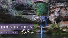 Are you heading to Ohio on vacation or a weekend road trip? Definitely put this amazing state park on your travel bucket list! This is the most magical, beautiful state park We've ever been in. We'll share our hiking tips with you. Travel Usa, Canada Travel, Roadside Attractions, Rv Life, State Parks, Kayaking, Places To See, Hiking Tips, Ohio
