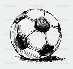 Ballon de soccer - Illustration: 6580394                              …