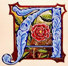 illuminated letters - Google Search
