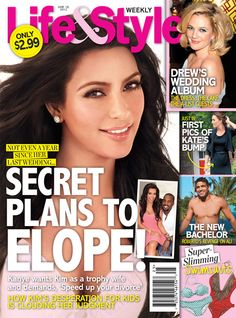 Shocker: Kim Kardashian Is In The News! Plans To Elope And Wardrobe Malfunctions?!