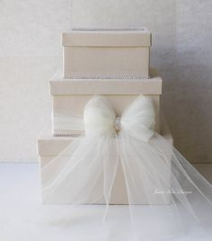Boda Tarjeta de la caja de la boda caja de Dinero de regalo Porción Tarjeta jamiekimdesigns