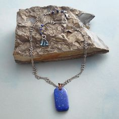 INFINITE BLUE NECKLACE: View 2