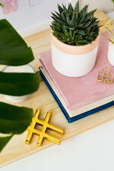 DIY Velvet Covered Books | Fall For DIY