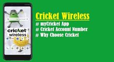 How Do I Find Cricket Account Number, myCricket App New Mobile Phones, New Phones, Cricket Website, Cricket Store, International Calling, Cricket Wireless, Wireless Service, Unlocked Phones