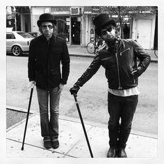 David Cook / Devin Bronson - @KYLESPEEK 2 of the finest gentlemen to walk the streets of Philadelphia ya see. Hmmm-yeah see.