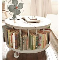 I love this table. Would be cute in kids room with children's books