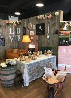 AMAVI events | Wedding booth