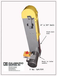 kalamazoo belt grinder. tool post grinder. kalamazoo belt grinder