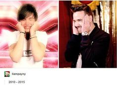 just how fast the night changes....
