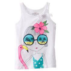 Beach Girl Bow Tank   Carters.com