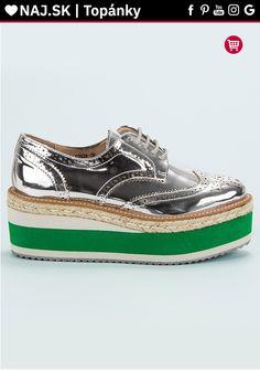 Strieborné topánky na platforme Corina Timberland, Boat Shoes, Vans, Platform, Sneakers, Fashion, Tennis, Moda, Slippers