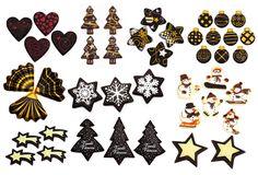 Ozvláštněte vánoční pečení zajímavými dekoracemi. MÁME TIPY! Cards, Tv, Television Set, Maps, Playing Cards, Television
