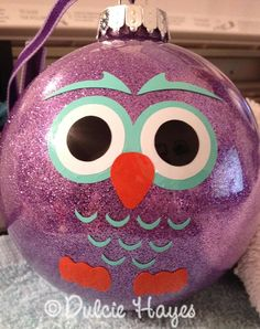 owl ornament;; OMG SO MAKING THESE!!!