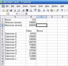 How to use nested IF statements in Excel with AND, OR, NOT | Experiments in Finance