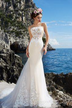 """ea3471d5f7 via Victoria Soprano 2017 Wedding Dresses — """"Capri"""" Bridal Collection.  Nefelejcs Esküvői ruha ..."""