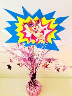 Barbie in Power Princess- DIY birthday center piece