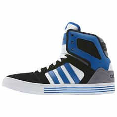 meet d2b9e 78261 adidas BBNEO Hi Top 3-Stripes Shoes Shoe Room, Striped Shoes, Sport Casual