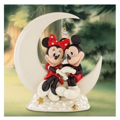 Lenox Disney Here\'s Looking at You Mickey Figurine | Mickey mouse ...